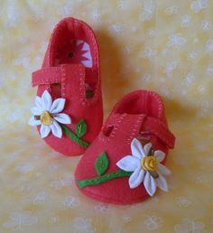 Spring hot pink tstrap girl shoe by OnlyLittleOnce on Etsy, $15.00