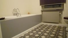 Cementtiles bathroom - Gris 01 - Project van Designtegels.nl