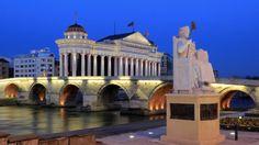 Slik får du råd til å dra til dyrere land Macedonia, Nest, Mansions, House Styles, City, Beautiful, Home Decor, Nest Box, Decoration Home