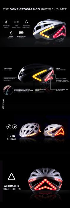 Next Generation Bicycle Helmet, i think this would help solve a lot of roadrage between bikers and drivers.