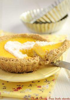 Tarte au citron saine et « raisonnable » (IG bas)
