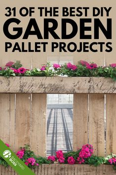 Wood pallets are easy to come by and they can be used to create almost anything. Here are a few of our favorite pallet garden ideas to inspire you.