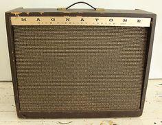 Magnatone 480 Venus Stereo Guitar Amplifier True Vibrato 4 6L6's 100 Watt Loud!!