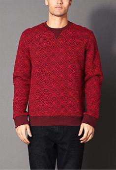Favorite Geo Sweatshirt | Sweatshirts & Hoodies | Men - 2000126331 | Forever 21 UK