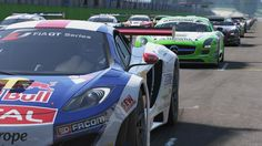 Two new gameplay videos of Project CARS have emerged, whichare running on the Playstation 4 console. The first of these videos (above) shows off the Dubai Autodrome and the second takes place at Silverstone. The car in both videos is the 2012 Mercedes-Benz SLS AMG GT3 if I'm not mistaken. The Mercedes-Benz race car sounds great as it tears around