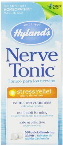 Hyland's NETO-T500 Nerve Tonic Stress Relief Tablets,500 Count //Price: $9.59 & FREE Shipping //     #hashtag3