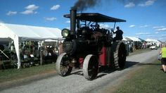 Steam Traction Engine on parade