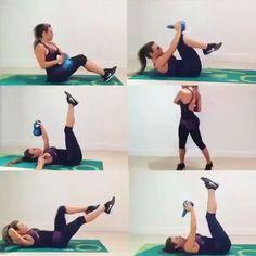 RETO ABDOMEN  @fitnesscolombiatv