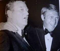 """You may be cool, but you will never be """"Steve McQueen and John Wayne in tuxedos"""" cool"""