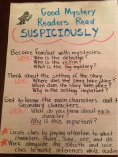 Second Grade  The Reading  Writing Project Lots Of Anchor
