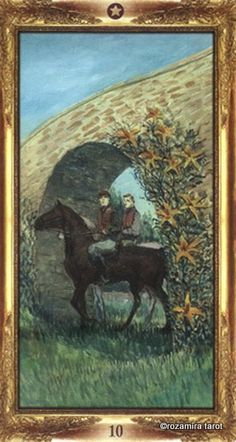 Ten of Pentacles - Impressionist Tarot by Arturo Picca