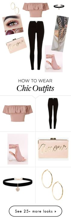 """Brunch Chic"" by scrosbyc on Polyvore featuring Miss Selfridge, River Island, Qupid, BCBGMAXAZRIA, Betsey Johnson and GUESS by Marciano"