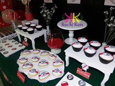 ambientaciones temáticas cumple temático ríver plate candy bar golosinas fiestas decoraciones niños festejo cumpleaños cajitas golosineras souvenirs centros de mesa Birthday Candles, Birthday Cake, Plates, Bar, Desserts, River, Food, Ideas, Celebration