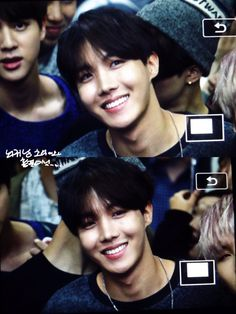 just a smiling j-hope