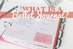 This Fashion is Mine: How to | Get Stuff Done with a Bullet Journal