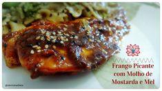 Frango Picante com Molho de Mostarda e Mel