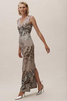 Lilliana Dress Slate Multi in Occasion Dresses Mob Dresses, Gala Dresses, Party Dresses For Women, Evening Dresses, Formal Dresses, Bride Dresses, Brides Mom Dress, Bridesmaid Dresses, Mother Of Groom Dresses