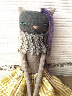 articulated cat rag doll