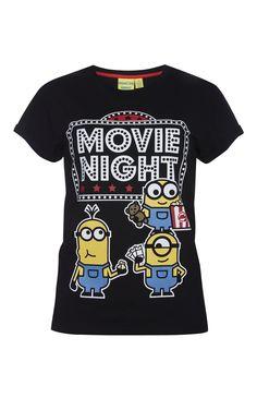 Primark - Minions Movie Night PJ T-Shirt