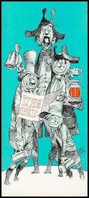 Fantasy Ink: Jack Davis Christmas Cards