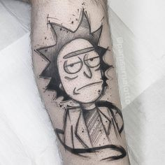 rick and morty tattoo ideas 21 Rick and Mortys tattoos Boy Tattoos, Anime Tattoos, Funny Tattoos, Sleeve Tattoos, Tatoos, Tatuaje Rick And Morty, Rick And Morty Tattoo, Ink Pen Drawings, Tattoo Sketches