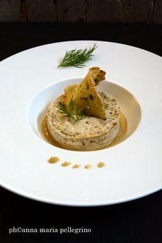Sformatino di Stracchino alle erbe aromatiche e salsa di pere senapate. Per continuare a stra-biliare con Formaggi in Villa ~ la cucina di qb