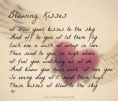 Lots of kisses...