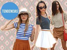 Consejos para usar rayas en verano #actitudfem #estilofem #moda #estilo #look #consejo #outfit #summer