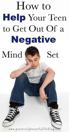 Advice from a parent of a teen. What worked for our teen is getting him out of a negative mind set. See how we got our home life back in order.