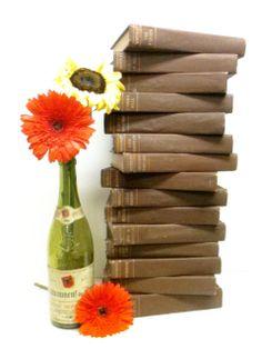 Old Book Lot, Rustic Wedding , Waverley Novels by beachbabyblues, $245.00