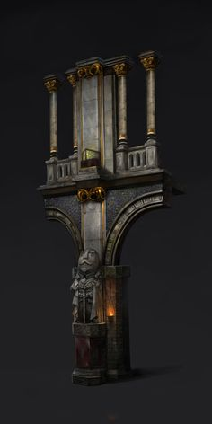 ArtStation - -, j. Bg Design, Prop Design, Art Deco Design, Game Design, Game Environment, Environment Concept Art, Environment Design, Zbrush Environment, 3d Fantasy