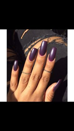 Dark purple!