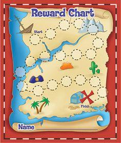 Piratenschatkaart spelbord