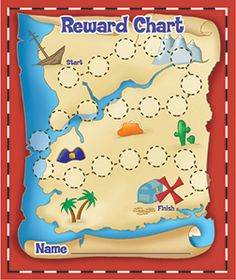 Treasure Hunt Mini Reward Charts--cute! Site has other good charts too.