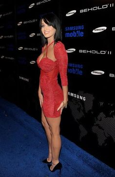 See Katy Perry in Various States of Undress: Katy Perry looked red hot at the Samsung Behold II launch event in LA in November 2009.