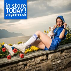 New Geelee light for the summer in store in Switzerland and online www.
