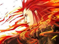 Axel! <3 (Kingdom Hearts)