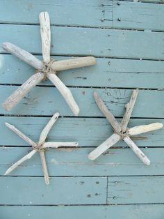 The Wicker House: Driftwood Starfish