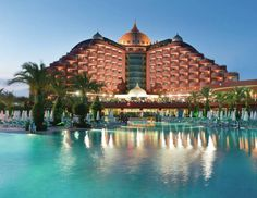 What do you say about a glory holiday in Delphin Palace? Was sagen Sie über ein Urlaub voller Ruhm im Delphin Palace? А как Вам мнение провести его в Delphin Palace? World's Most Beautiful, Beautiful Hotels, Amazing Hotels, Antalya, Hotels And Resorts, Best Hotels, Summertime Pictures, Turkey Hotels, Destinations