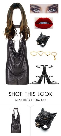 """""""Sem título #903"""" by maria-eduarda-velasco ❤ liked on Polyvore featuring Alexis Bittar, Tamara Mellon and Vince Camuto"""