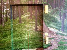 Finnish forest inside a hotel. Helsinki, Finland. janholmberg.weebly.com