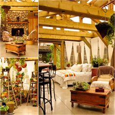 Patti Brisebois' Manitoba zone 3 garden.After years of dreaming and  planning a three season sunroom, Patti's dream finally came true.