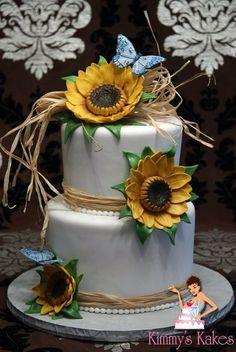 Harvest Wedding Cake
