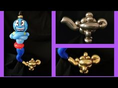Genie's lamp balloon tutorial. Aladdin's balloon tutorial. Lámpara mágica del genio de Aladín . - YouTube One Balloon, Balloon Ideas, Balloon Decorations, Party Hacks, Party Ideas, Balloon Cartoon, Balloon Animals, Arabian Nights, Craft Party