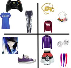 """""""gamer girl"""" by music-fashion-1998 on Polyvore"""