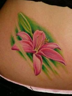 Love the placing Incredible Tattoos, Beautiful Tattoos, Tiger Lilly Tattoo, Lillies Tattoo, London Tattoo, Web Magazine, Best Web, Tatting, Body Art