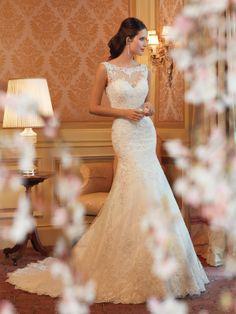Sophisticated romance! Sophia Tolli Wedding Dresses - Style Mirri Y11419 #weddingdresses #sophiatolli