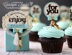 Care Bear Stamps: Be Inspired Blog Hop ~ Cupcakes & Carousels