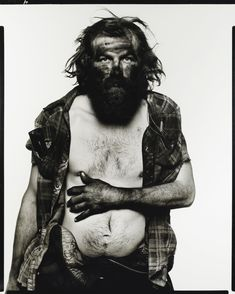 Richard Avedon 'EDWARD ROOP, COAL MINER, PAONIA, COLORADO', 12/10/79 DE LA SÉRIE IN THE AMERICAN WEST
