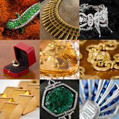 WOW! A selection of some of the rare and fine antique jewelry from M. Khordipour